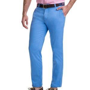 Vineyard Vines Light Blue Stretch Breaker Pants 34